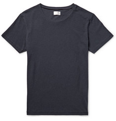 Gant Rugger Slim-Fit Slub Cotton and Linen-Blend T-Shirt