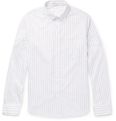 Gant Rugger Windblown Slim-Fit Striped Cotton Shirt