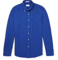 Gant Rugger - Slim-Fit Button-Down Collar Basketweave Cotton Shirt