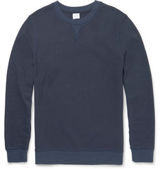 Sunspel Slim-Fit Cellulock Cotton Sweatshirt