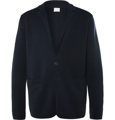Sunspel Milano Slim-Fit Merino Wool Knitted Blazer