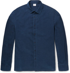 Sunspel Stonewashed Cotton-Twill Shirt
