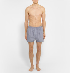 Sunspel - Polka-Dot Cotton Boxer Shorts