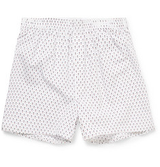 Sunspel - Printed Cotton Boxer Shorts