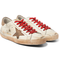 Golden Goose Deluxe Brand - Superstar Distressed Leather Sneakers