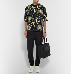 Sasquatchfabrix + Beams Printed Cotton T-Shirt