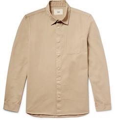 Folk Slim-Fit Cotton-Twill Shirt
