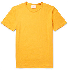 Folk Slub Cotton-Jersey T-Shirt