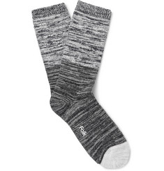 Folk - Mélange Cotton-Blend Socks