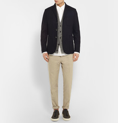Oliver Spencer Mayfield Slim-Fit Knitted Linen Cardigan