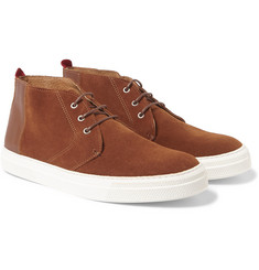 Oliver Spencer - Suede High-Top Sneakers