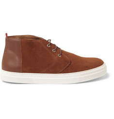 Oliver Spencer Suede High-Top Sneakers