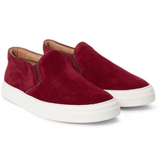 Oliver Spencer - Suede Slip-On Sneakers
