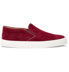 Oliver Spencer Suede Slip-On Sneakers