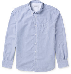 Officine Generale - Slim-Fit Striped Cotton Shirt