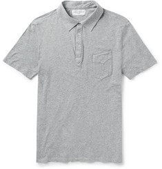 Officine Generale Slim-Fit Cotton Polo Shirt