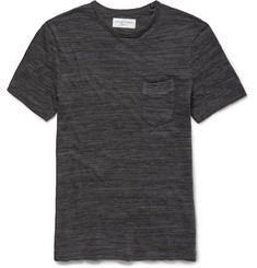 Officine Generale - Slim-Fit Marled Cotton-Jersey T-Shirt