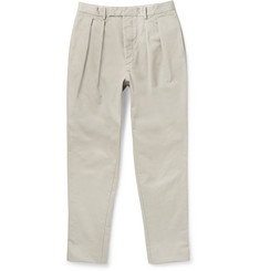 Officine Generale Tapered Cotton Trousers