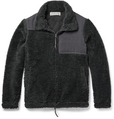 Remi Relief Panelled Fleece Jacket