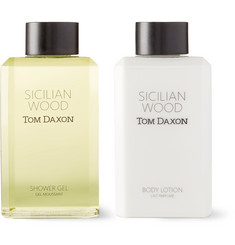 Tom Daxon Sicilian Wood Bodycare Set, 2 x 250ml
