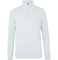 Peter Millar Perth Loopback Tech-Jersey Half-Zip Golf Top