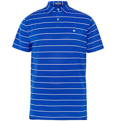 Peter Millar Potter Striped Stretch-Piqué Polo Shirt