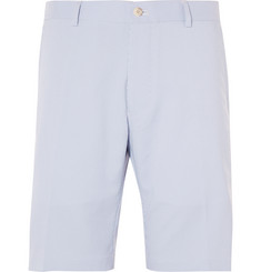 Peter Millar Salem Performance Slim-Fit Striped Twill Shorts