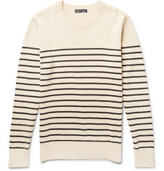Alex Mill - Striped Cotton and Cashmere-Blend Sweater