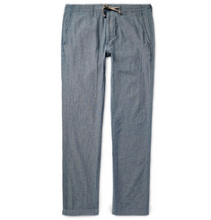 Alex Mill Cotton-Chambray Trousers
