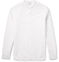 Alex Mill EOE Grandad-Collar Cotton Shirt