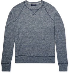 Alex Mill Mélange Linen and Cotton-Blend Sweater