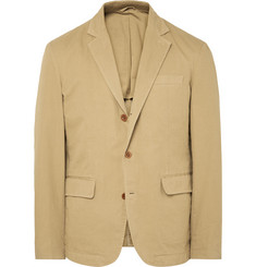 Alex Mill - Sand Unstructured Cotton-Twill Blazer