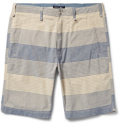 Alex Mill Striped Cotton Shorts