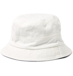 Alex Mill Reversible Cotton and Denim-Jacquard Bucket Hat