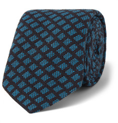 Marwood Patterned Woven Cotton Tie