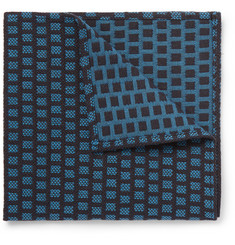 Marwood Cotton-Jacquard Pocket Square
