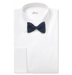 Marwood Pre-Tied Cotton-Mesh Bow Tie