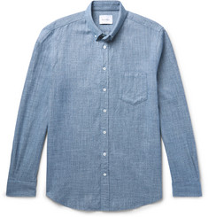Steven Alan Masters Slim-Fit Cotton-Flannel Shirt