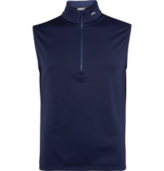 Kjus Golf Fleece-Back Stretch-Jersey Gilet