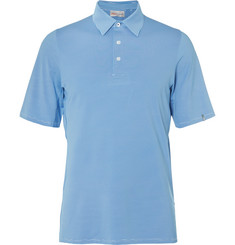Kjus Golf Soren Striped Stretch-Jersey Polo Shirt