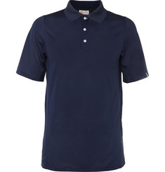 Kjus Golf Seapoint Mesh-Panelled Jersey Polo Shirt