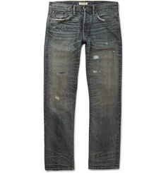 Ron Herman - Superior Distressed Straight-Leg Jeans