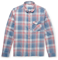 Ron Herman - Slim-Fit Checked Cotton-Flannel Shirt