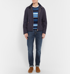 Ron Herman Slim-Fit Striped Cotton Sweater