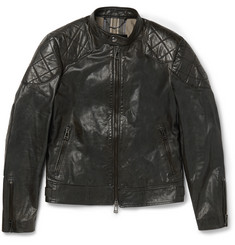 Belstaff The Outlaw Waxed-Leather Jacket