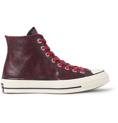 Converse 1970s Chuck Taylor All Star Textured-Leather High-Top Sneakers