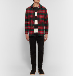 Undercover - Checked Cotton-Flannel Shirt Jacket