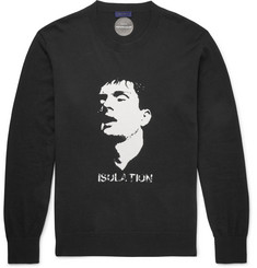 Undercover Ian Curtis Slim-Fit Cotton and Cashmere-Blend Sweater