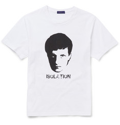 Undercover - Ian Curtis Printed Cotton-Jersey T-Shirt