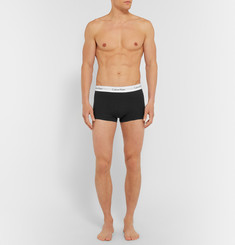 Calvin Klein Underwear Two-Pack Stretch-Cotton Boxer Briefs